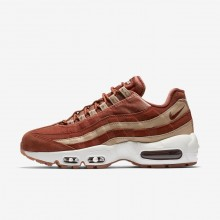 Nike Air Max 95 Lifestyle Shoes For Women Beige/White AA1103-201