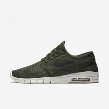 Nike SB Stefan Janoski Max Skateboard Shoes For Men Brown/Black 631303-302