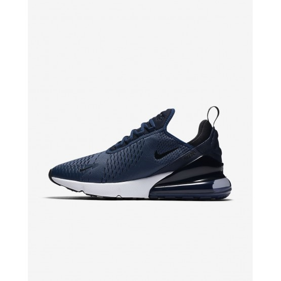 Nike Air Max 270 Lifestyle Shoes For Men Navy/White/Black AH8050-400