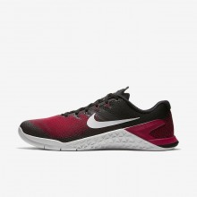 Nike Metcon 4 Training Shoes For Men Black/Red/Grey AH7453-002