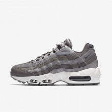 Nike Air Max 95 Lifestyle Shoes For Women Grey/White AA1103-003