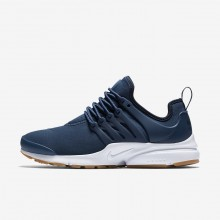 Nike Air Presto Lifestyle Shoes For Women Navy/Obsidian/Light Brown/Navy 878068-403